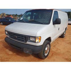 2003 FORD E250 Box Truck / Cargo Van
