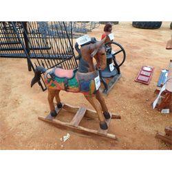 TEAKWOOD ROCKING HORSE Miscellaneous
