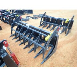 "78"" ROOT RAKE Skid Steer Attachment"