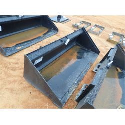 "72"" LOW PROFILE BUCKET Skid Steer Attachment"