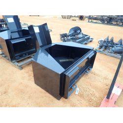 CONCRETE DUMP BOX  Skid Steer Attachment
