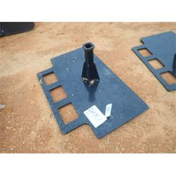 RECEIVER HITCH ASSY Skid Steer Attachment