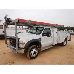 2008 FORD F550 CAR HAULER Service / Mechanic / Utility Truck