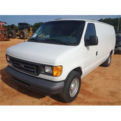 2006 FORD E150 VAN Car / SUV