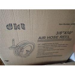 "3/8"" X 50' AIR HOSE REEL Miscellaneous"