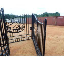 BULL ELK & COW DOUBLE GATE Miscellaneous
