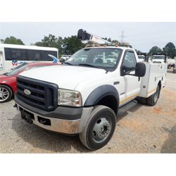 2007 FORD F550 Service / Mechanic / Utility Truck