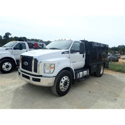 2016 FORD F650 Fuel / Lube Truck
