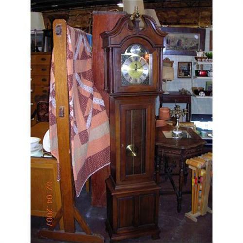 VINTAGE GERMAN RIDGEWAY GRANDFATHER CLOCK #945712