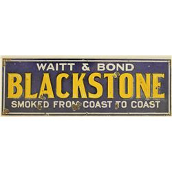 Blackstone Tobacco Sign