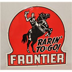 Frontier Oil Sign