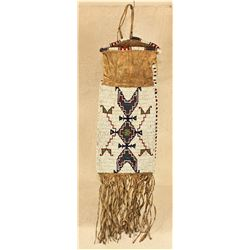 Sioux Beaded Tobacco Bag