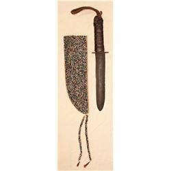 Souix Beaded Knife Sheath