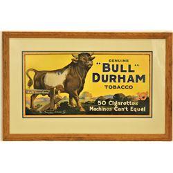 Bull Durham Advertising