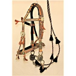 Wyoming Ranch Horsehair Bridle