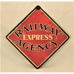 Railway Express Sign