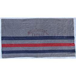 Wells Fargo Horse Blanket