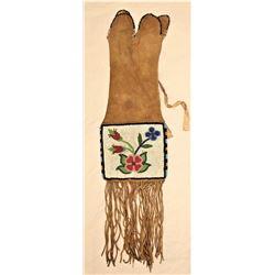 Cree Beaded Tobacco Bag