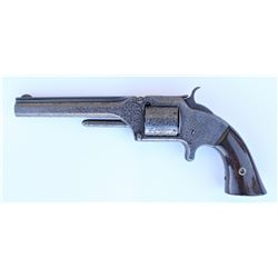 Engraved Smith & Wesson Revolver