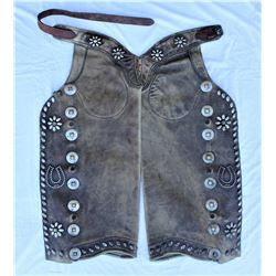 George Lawrence Studded Chaps