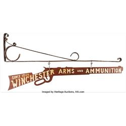 Winchester Metal Advertising Sign