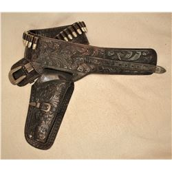 Hollywood Saddlery Gun Rig