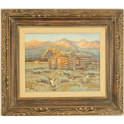 Fred Fellows Oil Painting