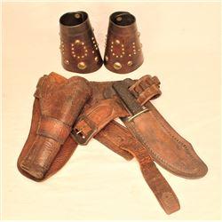 Wyeth Gun Rig and Cuffs