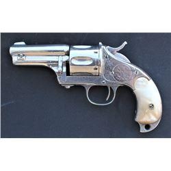 Engraved Merwin Hulbert Pocket Army Revolver