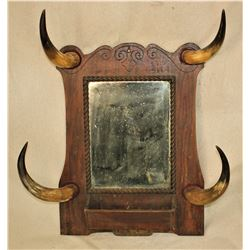 Horn Wall Mirror