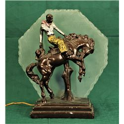 Bucking Horse Lamp