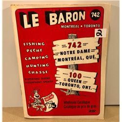 1973 LE BARON SPORTING GOODS CATALOG
