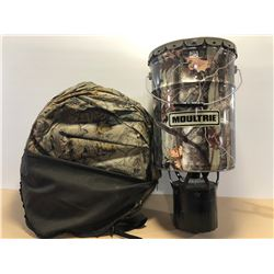MOULTRIE DEER FEEDER & BLIND