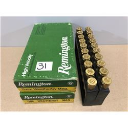BRASS: 38 X 7MM WEATHERBY MAG