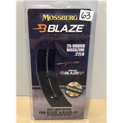 MOSSBERG BLAZE .22 LR MAG - AS NEW
