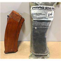 PMAG 30 AK / AKM MAG 7.62 X 39 MM - POLY & WOOD