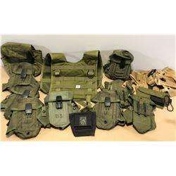 M16 AMMO POUCHES, VEST, ETC.