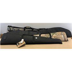 5 X SOFT LONG GUN CASES - AS NEW