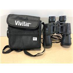 VIVITAR 7 X 50 BINOCULARS - AS NEW