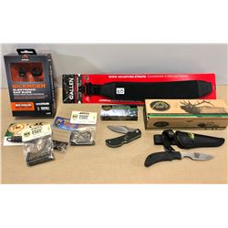 HUNTING ACCESSORIES LOT - AS NEW