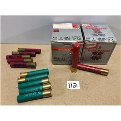 "AMMO: 58 X 410 GA 4, 6, 7 1/2 SHOT 3"""