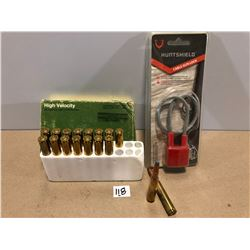 AMMO: 17 X .270 150 GR & NEW CABLE LOCK