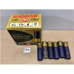 AMMO: 31 X 16 GA MIXED SHOT