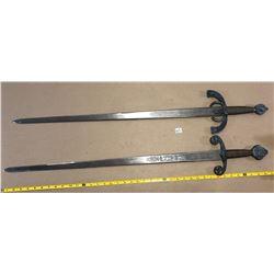 GR OF 2 DECORATIVE SWORDS
