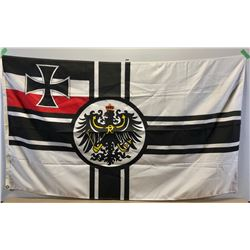 WW I DEUTCH REICH IMPERIAL GERMAN FLAG - 3' X 5'