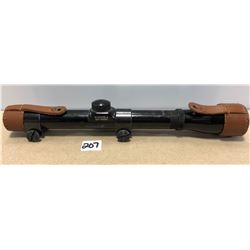 BUSHNELL 2.5 X 20 SCOPE WITH LEATHER COVERS