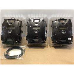 SET OF 3 MOULTRIE GAME CAMERAS