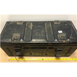 LARGE METAL AMMO CRATE