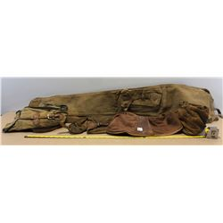 6 X MILITARY STYLE CANVAS GUN COVERS