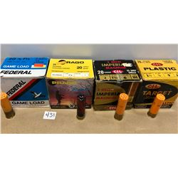 "AMMO: 99 X 20 GA 2 3/4"" MIXED SHOT"